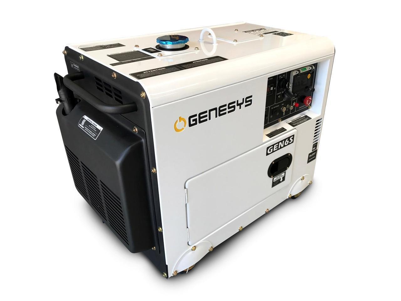 9KVA Perkins Diesel Generator - 240V Specifications